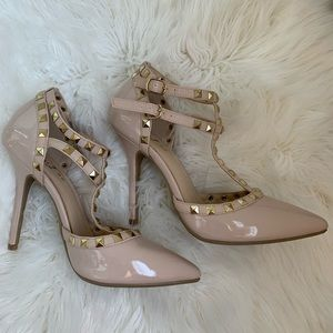 Shoes - Nude high heels